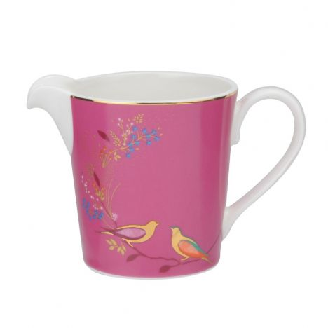 Sara Miller Chelsea Collection Cream Jug - Pink