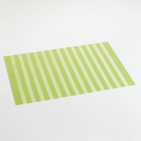 Garden Hemstitched PVC Placemat - Lime Green
