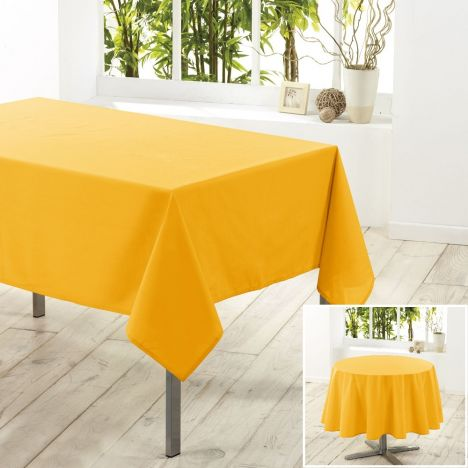 Essentiel Plain Tablecloth - Yellow