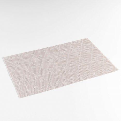 Trigone PVC Table Placemat - Natural: 30cm x 45cm
