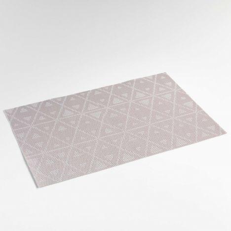 Trigone PVC Table Placemat - Grey: 30cm x 45cm