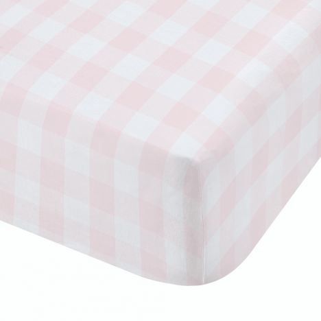 Catherine Lansfield Kids Woodland Friends Fitted Sheet - Pink
