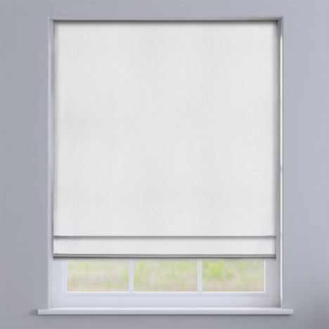 Knightsbridge White Roman Blind