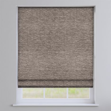 Kent Chenille Earth Roman Blind