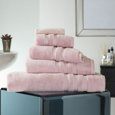 Hotel Quality Opulence 100% Cotton 800gsm Bathroom Towel - Blush Pink