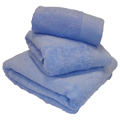 Egyptian Cotton Combed Supersoft Towel Blue: Face Cloth