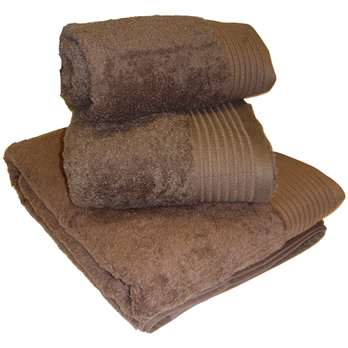 Egyptian Cotton Combed Supersoft Towel Chocolate Brown: Face Cloth