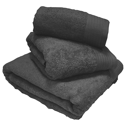 Egyptian Cotton Combed Supersoft Towel Grey: Face Cloth