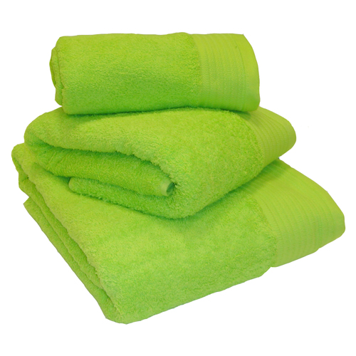 Egyptian Cotton Combed Supersoft Towel Lime Green: Face Cloth