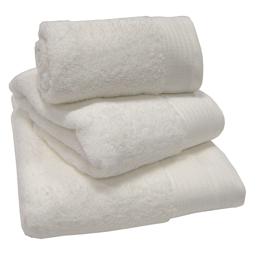 Egyptian Cotton Combed Supersoft Towel - White: Face Cloth