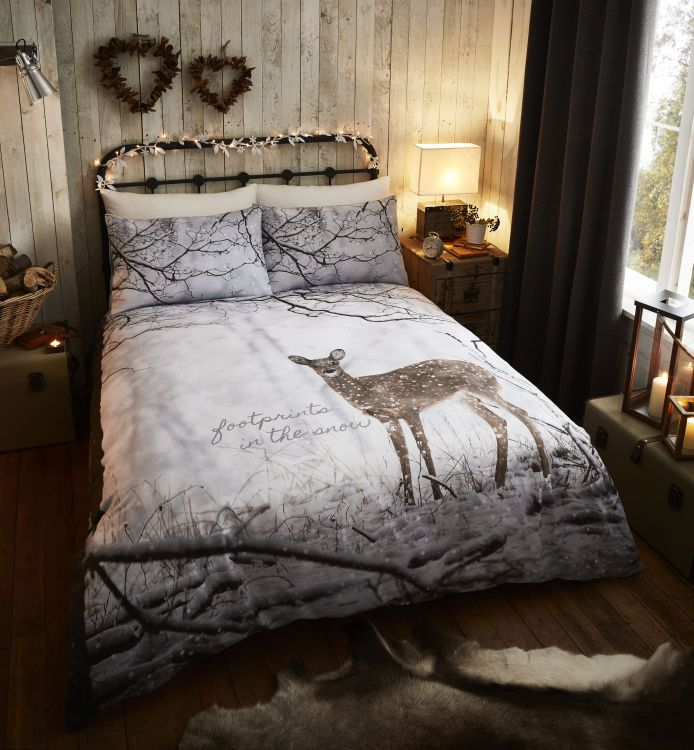 Christmas Animals Deer Duvet Set Tonys Textiles
