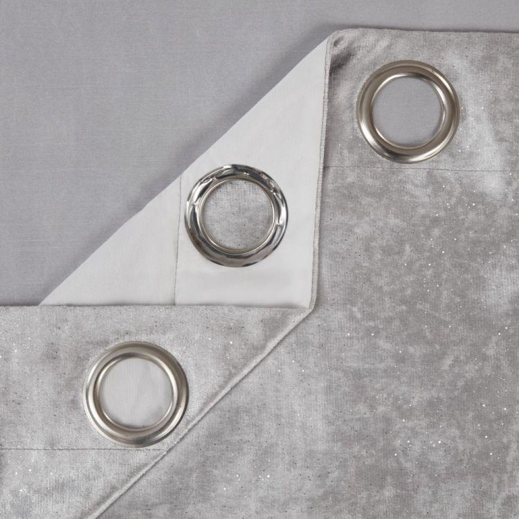 Grey Glitter Bath Mat Sets