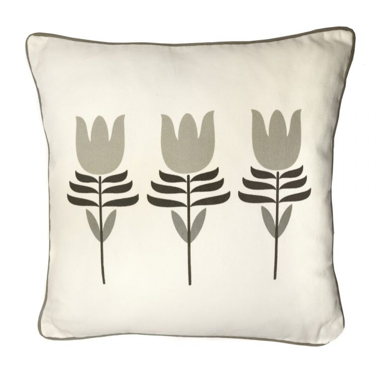 Haldon Floral Tulip Cushion Cover Natural Tonys