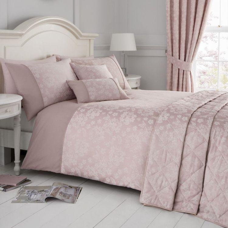 Blossom Floral Duvet Cover Set Blush Pink Tonys