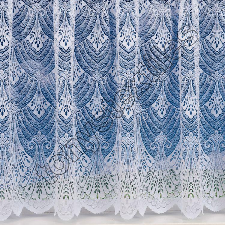 Luxury Heavy Weight Lace Net Curtain White Tony S