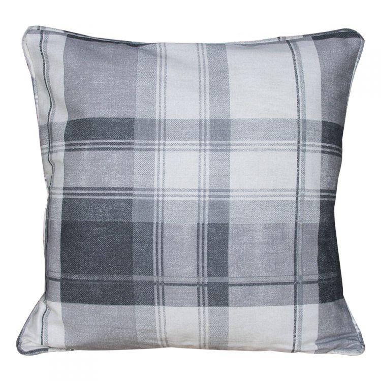 Purple Tartan Curtains And Cushions Savae Org