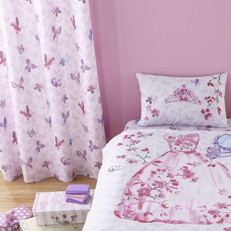 Glamour Princess Ring Top Curtains Tonys Textiles