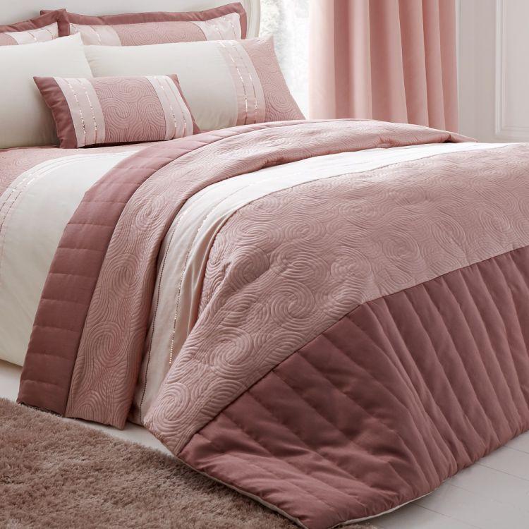 Gatsby Blush Pink Bedspread Tonys Textiles