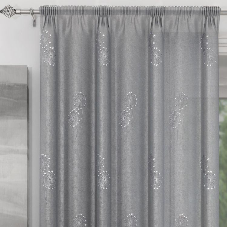 Silver Curtain Panel Voile Tony S Textiles Tonys