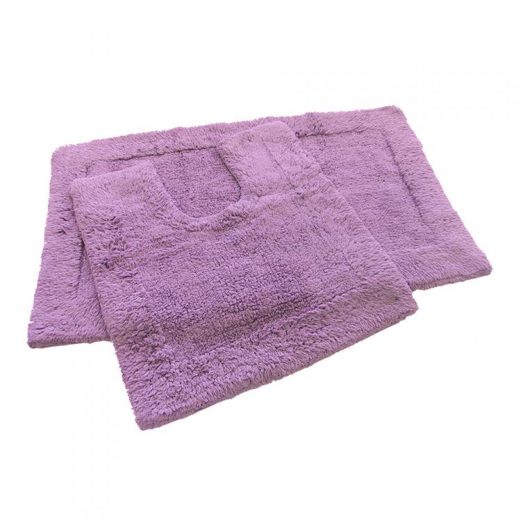 Purple Bath Mat Set 100 Cotton Tony S Textiles