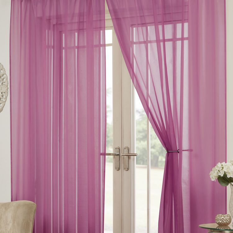 Pink Voile Panel Tony S Textiles Tonys Textiles