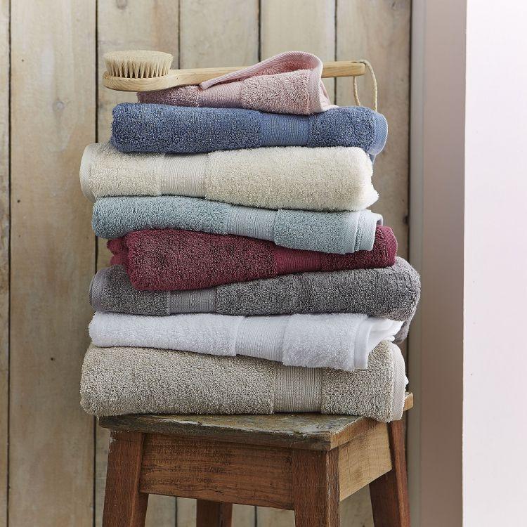 Bianca Cotton Soft Towels 100 Cotton Duck Egg