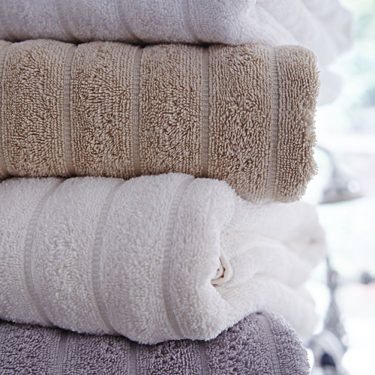 Bianca Cotton Soft Towels 100 Cotton Cream Ivory