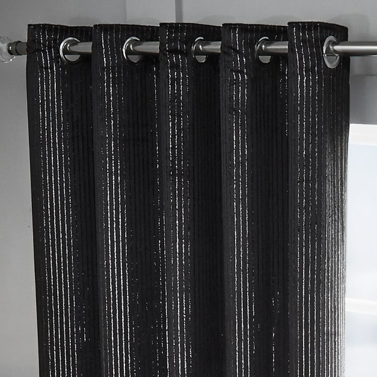 Black Sparkle Velvet Curtains Tony S Textiles