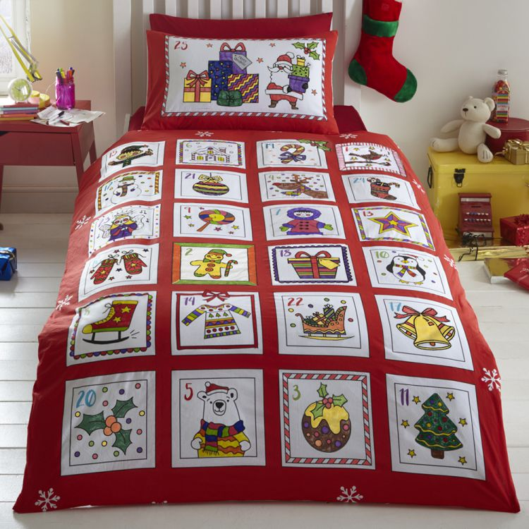 christmas duvet covers advent colouring in duvet cover quilt 30231