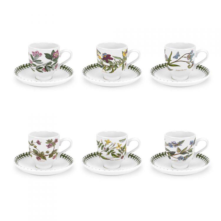 Botanic Garden Coffee Cup Saucer Set Tonys Textiles
