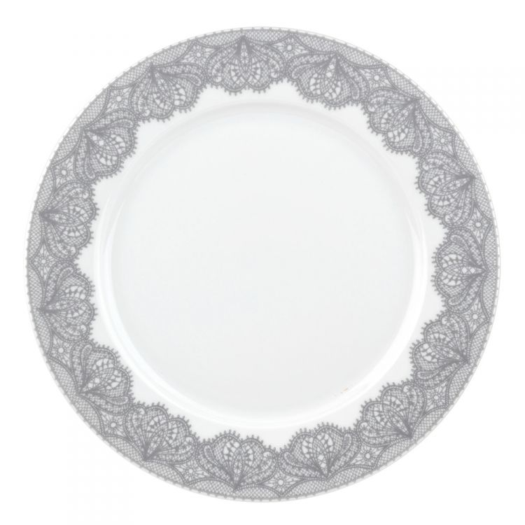 Catherine Lansfield Glamour Lace Dinner Plate Set Of