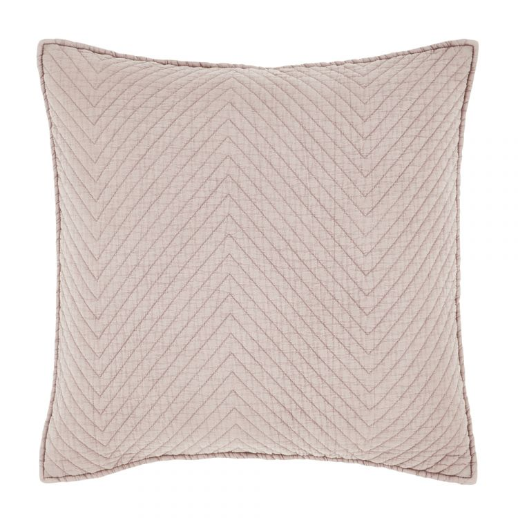 Catherine Lansfield Stone Wash Cushion Cover Blush