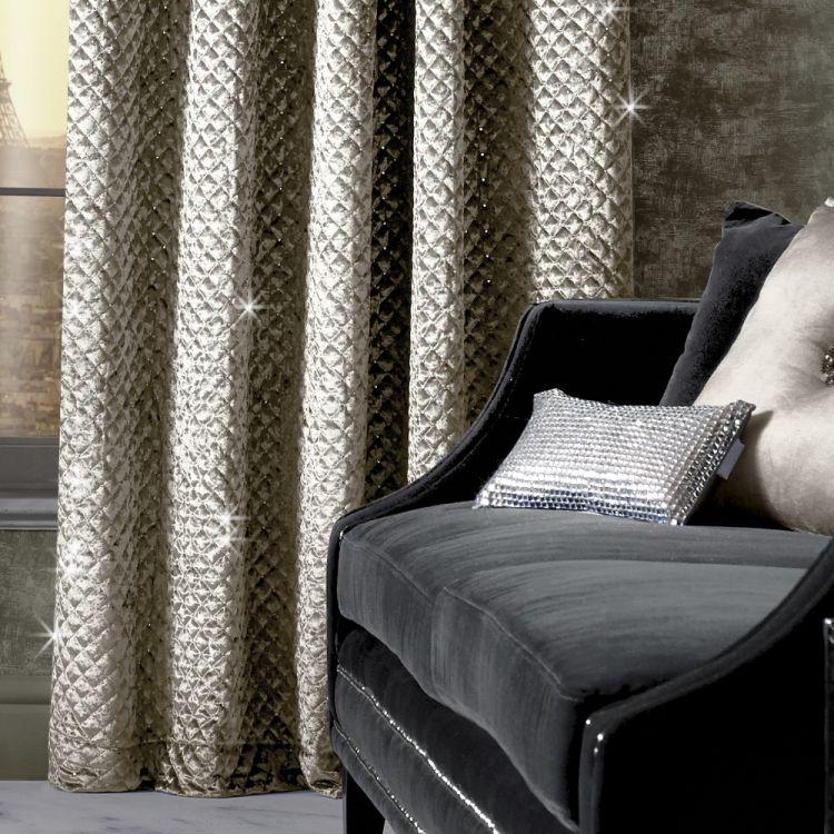 Kylie Minogue Grazia Curtains Praline Tonys Textiles