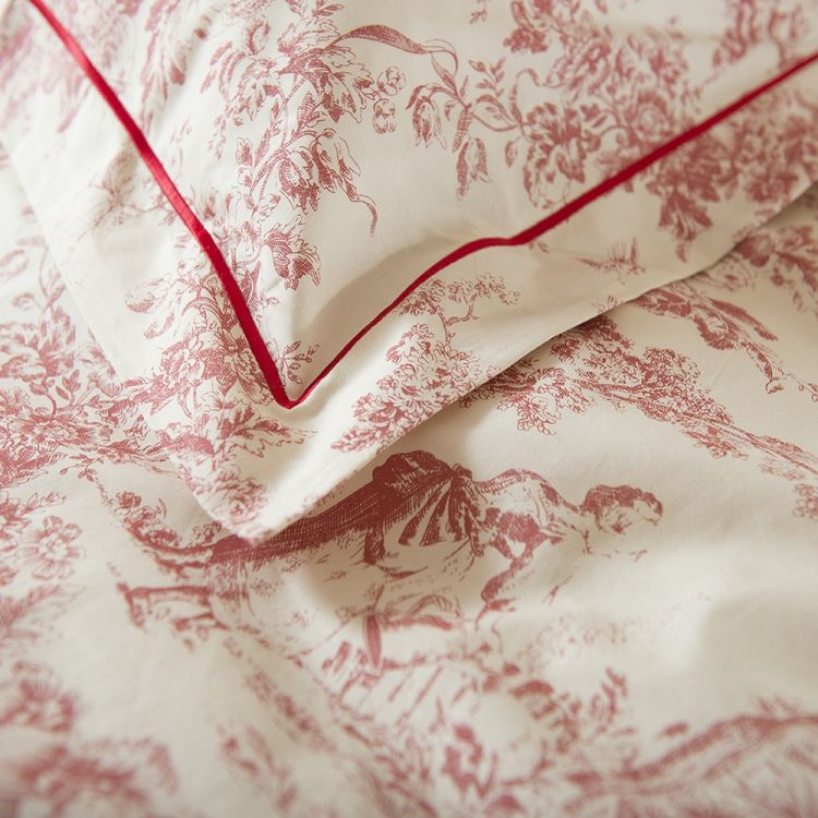 Toile De Jouy Vintage Duvet Cover Tonys Textiles
