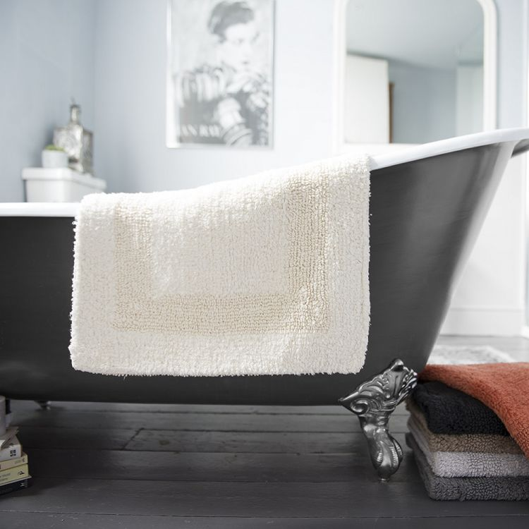 Bliss Reversible 100 Cotton 2200gsm Bath Mat