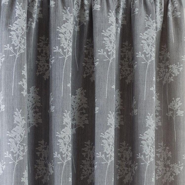 arlington ready made curtains silver grey tonys textiles. Black Bedroom Furniture Sets. Home Design Ideas