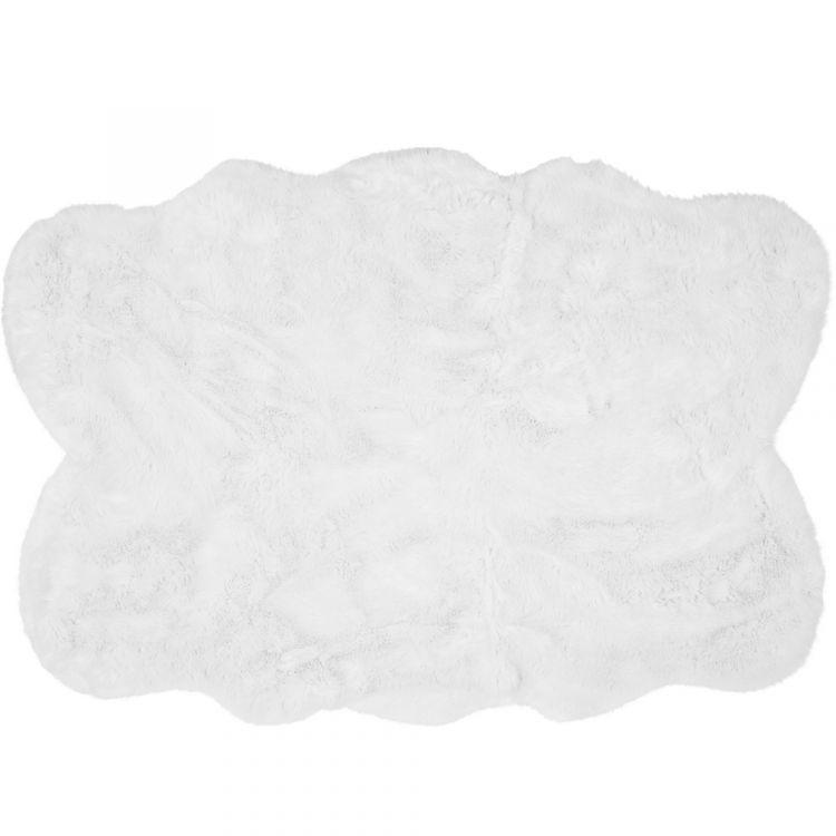 Auckland Luxury Faux Sheepskin Rug White Tonys