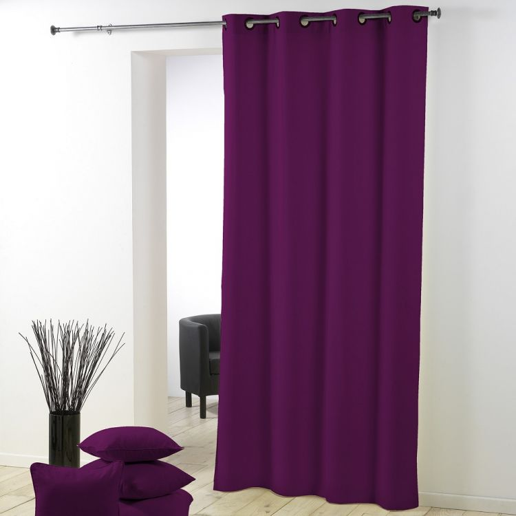 Essentiel Ring Top Curtain Panel With Plastic