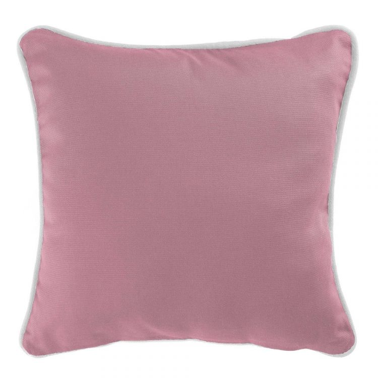 Plain 100 Cotton Panama Candy Pink Cushion Cover