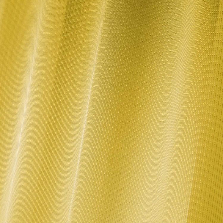Pointille Striped Ring Top Voile Curtain Panel