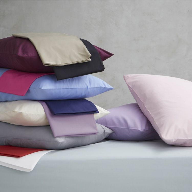 Non Iron Percale Combed Polycotton Fitted Sheet
