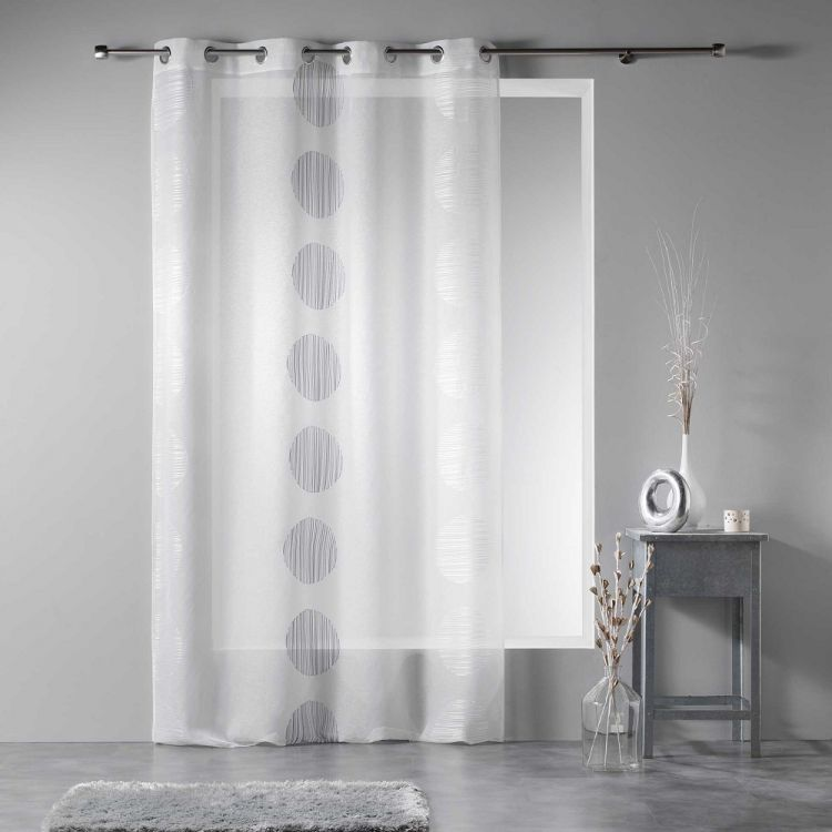 Rondina Eyelet Voile Panel With Embroidered