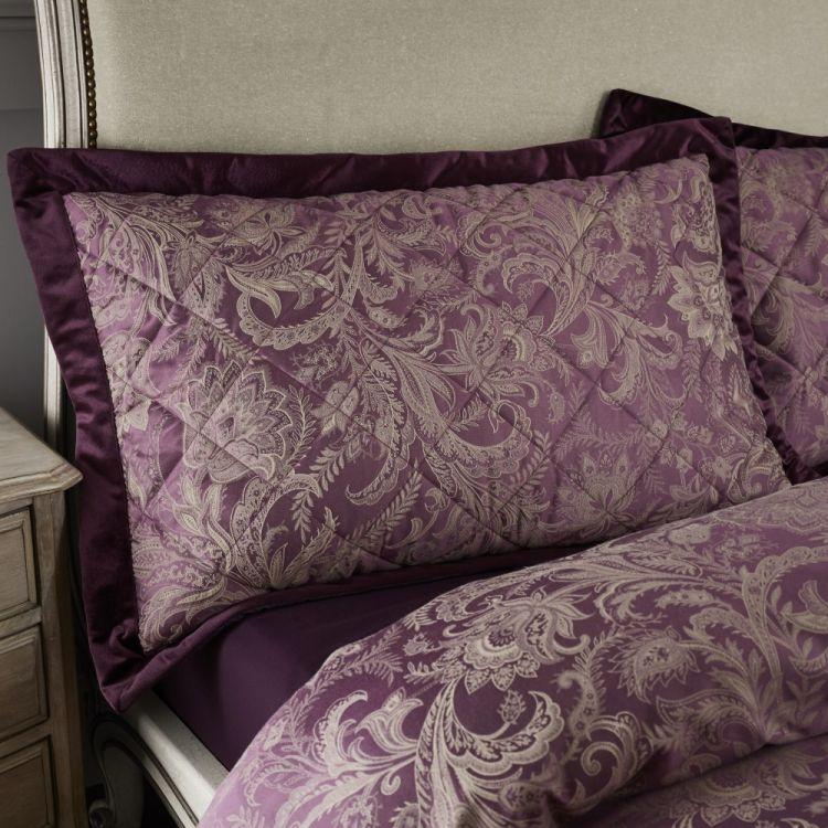 Catherine Lansfield Regal Jacquard Pillowsham Pair