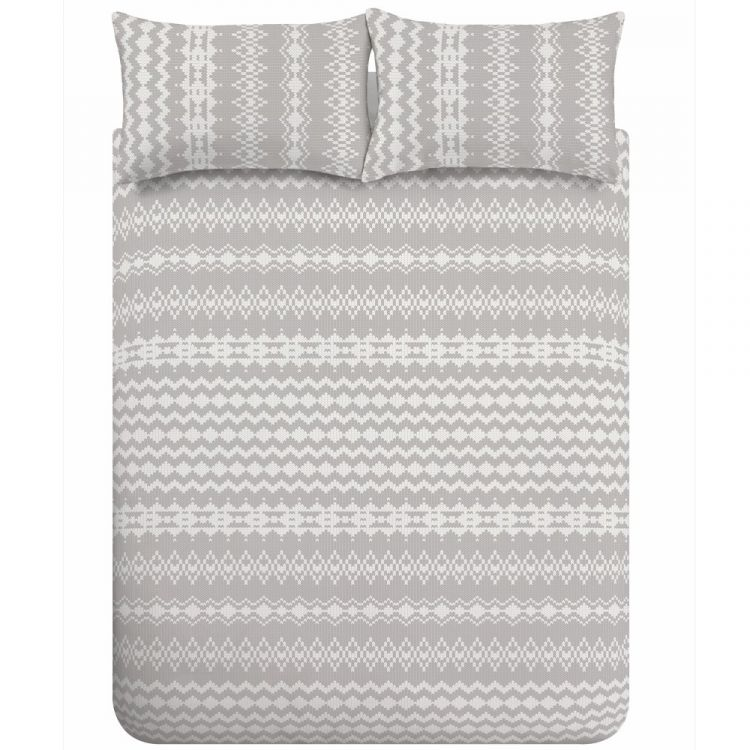Catherine Lansfield Alpine Fleece Duvet Cover Set