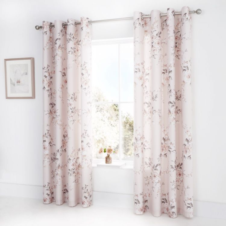 Catherine Lansfield Canterbury Floral Curtains