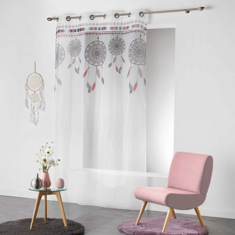 Indila Dream Catcher Eyelet Voile Curtain Panel