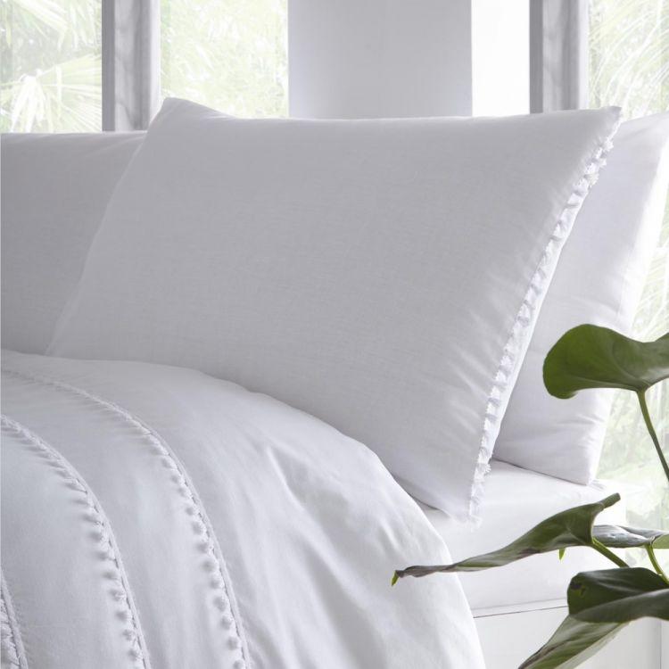 Plain White Pillows