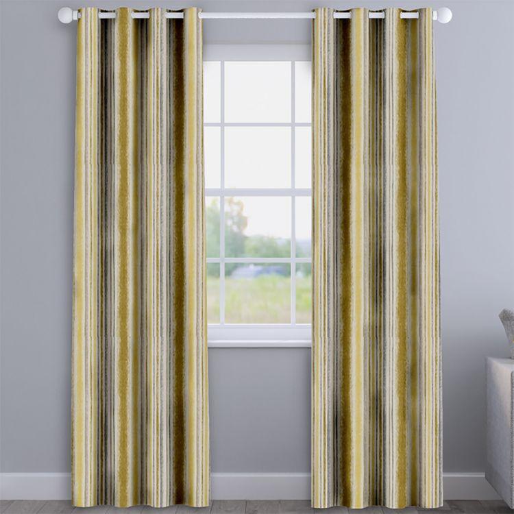 Garda Stripe 100 Cotton Made To Measure Curtains