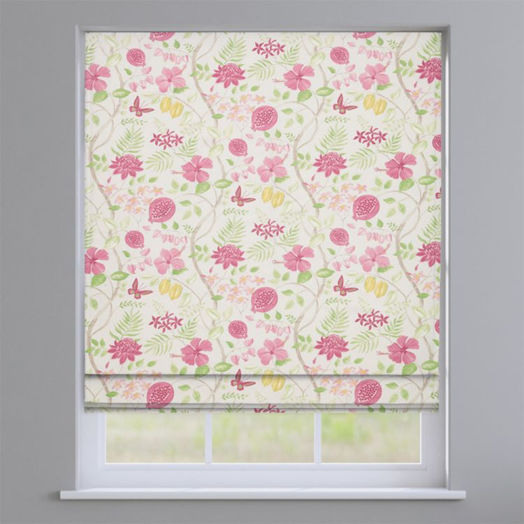 Rain Forest Floral 100 Cotton Made To Measure Roman