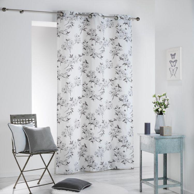 Ashley 100 Cotton Ready Made Single Eyelet Curtain